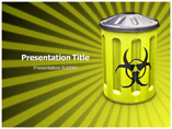 nuclear waste Templates For Powerpoint
