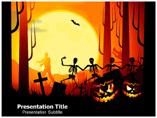 halloween pumpkins powerpoint template