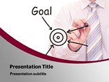 Pointing the Goal PowerPoint Themes
