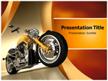 Motorbikes PowerPoint Backgrounds