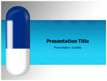Blue pill Templates For Powerpoint