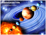 Solar System Pics Templates For Powerpoint