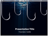 Fishing Hook PowerPoint Templates