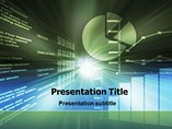 education powerpoint templates - Spreadsheet Chart