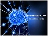 Brain PowerPoint Template, Brain PowerPoint Design Templates
