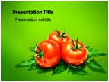 Fresh Tomato Templates For Powerpoint