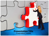 Last Puzzle Piece powerpoint template