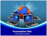 Online Testing powerpoint template