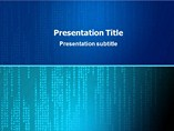 Matrix Background Templates For Powerpoint