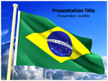 Brazilian Flag Templates For Powerpoint