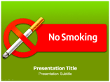 No Smoking Zone Templates For Powerpoint