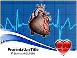 Heart Attach Templates For Powerpoint