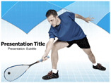 Squash Player Templates For Powerpoint