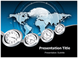 World Time Templates For Powerpoint