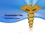 Caduceus Pictures Templates For Powerpoint