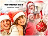 Christmas Family PowerPoint Templates Templates For Powerpoint