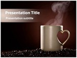 coffee and love pictures Templates For Powerpoint