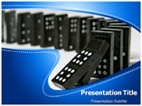 dominoes effect Templates For Powerpoint