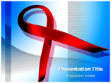 HIV Aid Symbol Templates For Powerpoint