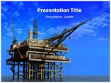 Oil Mining Technique Templates For Powerpoint