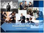 Business Meeting PowerPoint Themes