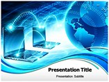 Global Computer Network Templates For Powerpoint