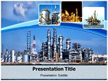 Oil Refinary Templates For Powerpoint