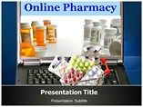 Medical Online pharmacy   Templates For Powerpoint