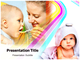 Baby Fooding Templates For Powerpoint