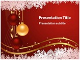 Christmas Ball PPT Template