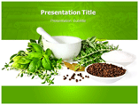 Herbs For Sale Templates For Powerpoint