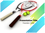 Tennis Racket Templates For Powerpoint