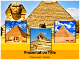 Sphinx and Pyramid Templates For Powerpoint