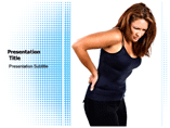 Upper Back pain Templates For Powerpoint