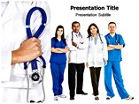 Doctors Team powerpoint template