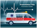 Medical Ambulance powerpoint template