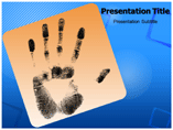 Finger Printing Templates For Powerpoint
