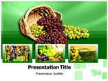 Grapes Templates For Powerpoint