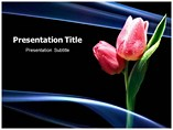 Tulip Flower Templates For Powerpoint