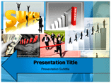 Walking On Success Templates For Powerpoint