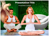 Yoga and Heart Templates For Powerpoint