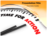 Time For Action Templates For Powerpoint