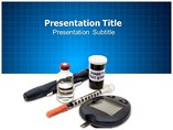Diabetes Medical Supplies Templates For Powerpoint
