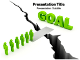 Going for Goal PowerPoint Designs