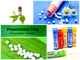 Homeopathy powerpoint template