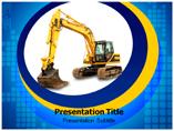 JCB Crane Templates For Powerpoint