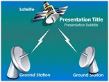 Satellite Communication Templates For Powerpoint