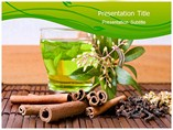 Natural Herbal Tea PowerPoint Layouts