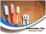 Oral Toothbrush Templates For Powerpoint