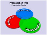 Venn Chart PPT Themes
